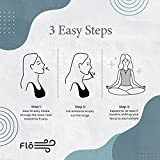 Flō Stress Relief Mindful Breathing Necklace