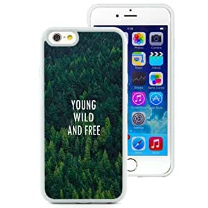 NEW Unique Custom Designed iPhone 6 4.7 Inch TPU Phone Case With Young Wild And Free Forest Pattern_White Phone Case