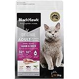 Black Hawk - Dry Cat Food, Lamb and Rice, 3kg