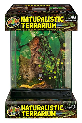 Terrarium Naturalistic - Zoo Med Laboratories SZMNT2 Naturalistic Terrarium, Medium (12