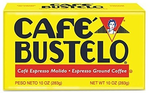 Cafe Bustelo Espresso Coffee, Pack of 6 (10 Ounce Bricks)