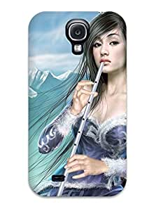 Imogen E. Seager's Shop Tpu Case Cover Compatible For Galaxy S4/ Hot Case/ Flute Fantasy Women Abstract Fantasy WI486D9ROUKS9XGF