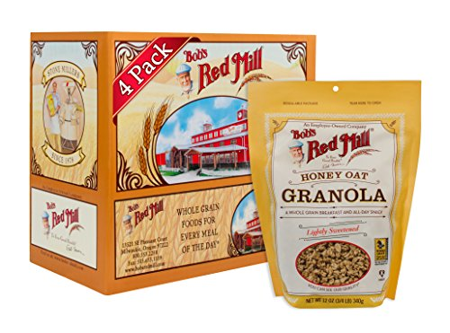 Bob's Red Mill Resealable Honey Oat Granola, 12 Oz (4 ()