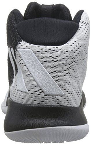 Adidas Chaleur Folle Des Hommes, Noir / Blanc Noir / Blanc
