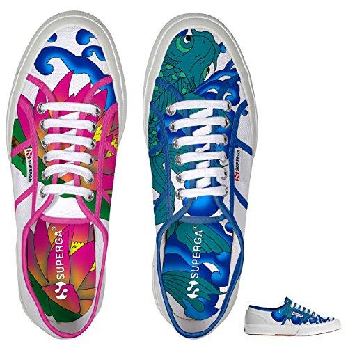 Donna Superga Cotu Fantasy Sneaker Lagoon 2750 qCBavxUw