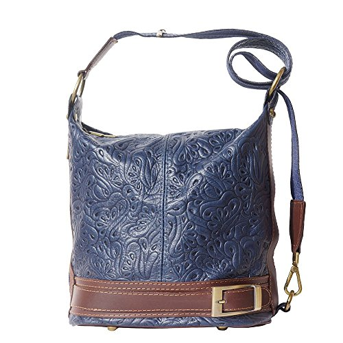 Bag Bag Bucket 300s Shoulder Blue Marine Brown With Trasformable On H1xBqPIwI5
