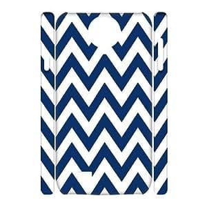 Chevron Stripes Custom 3D Cover Case for SamSung Galaxy S4 I9500,diy phone case ygtg624814