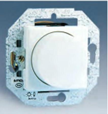 Simon - 27313-35 conmutador regulador luz s-27 blanco Ref. 6552765100