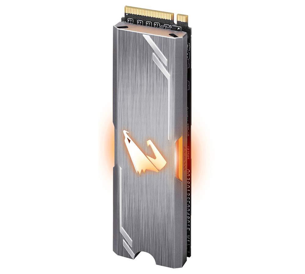 Disco Duro M.2 Gigabyte AORUS RGB M.2 NVMe SSD 512GB