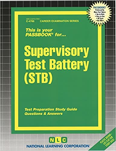 Supervisory test battery stb passbooks passbooks 9780837347660 supervisory test battery stb passbooks fandeluxe Image collections