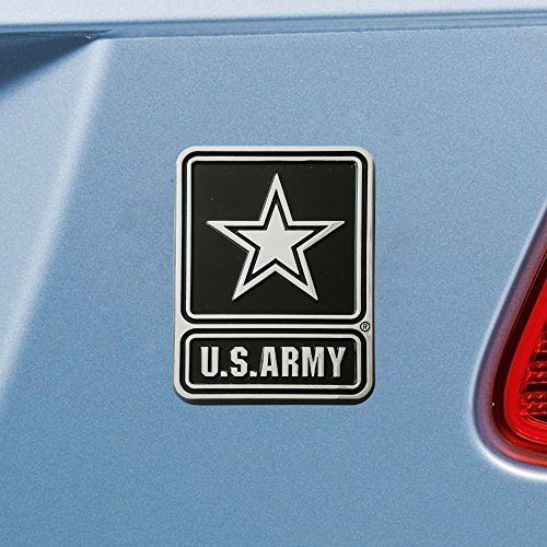 """Used, Military U.S. Army Emblem, 2.7"""" x 3.2""""/Small, Black for sale  Delivered anywhere in USA"""