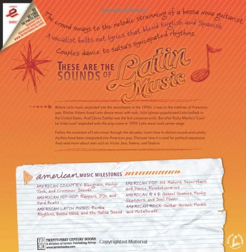 Amazon.com: American Latin Music: Rumba Rhythms, Bossa Nova, and the Salsa Sound (American Music Milestones) (9780761345053): Matt Doeden: Books