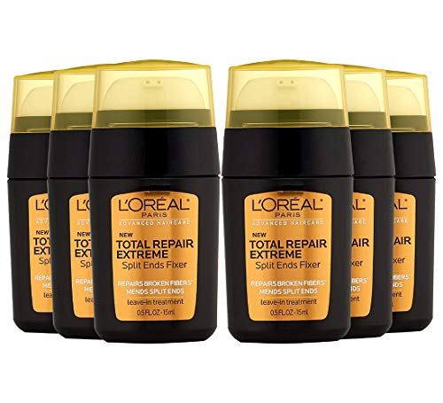 (L'Oreal Paris Advanced Haircare Total Repair Extreme Split Ends Fixer, 0.5 oz (Pack of 6))