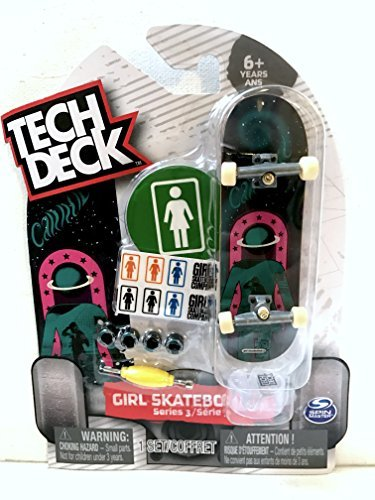 Tech Deck Girl Skateboards Series 3 with Stickers & Stand Ultra Rare ()