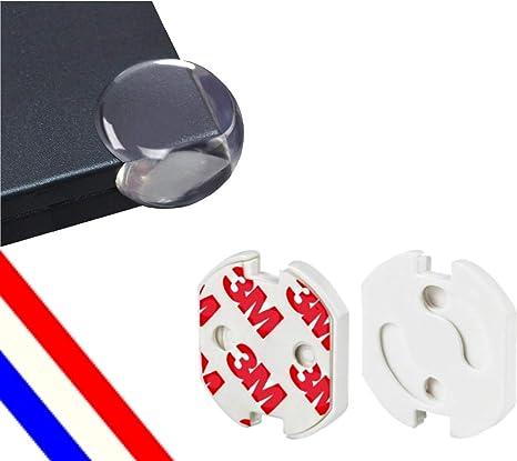 Pack 30 - Kit Bebes Y Ninos: Caja De 10 X Tapa Enchufes Inteligente + 20 X