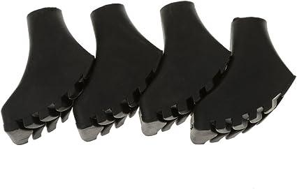 4pcs Anti-slip rubber paw feet tips hammers hiking stick walking trekking caps /&