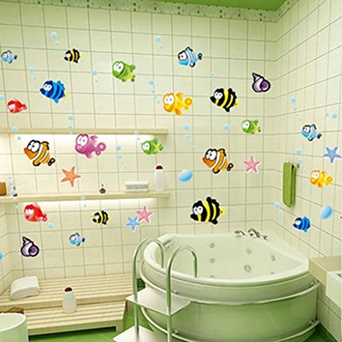 HuntGold Colorful Cartoon Organisms Bathroom product image