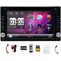 GPS Navigation In-Dash 6.2 2 DIN Car Dvd Player Vehicle Headunit Car Stereo Video Audio Radio Auto
