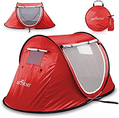 Hasika Pop-up 2 Tent an Automatic Instant Portable Beach Tent Water-Resistant /& UV Protection Sun Shelter with Carrying Bag