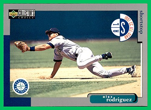 (1998 Collector's Choice #495 Alex Rodriguez ARod 3000 Hit Club SEATTLE)
