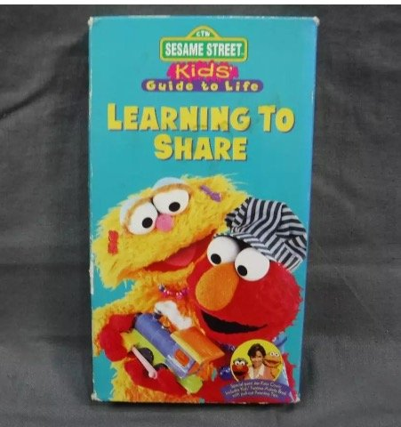 Sesame Street - The Best of Elmo & Learning to Share-(Kids:Guide to life) [VHS]