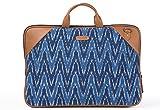 Laptop Bag Blue Ikat Durrie
