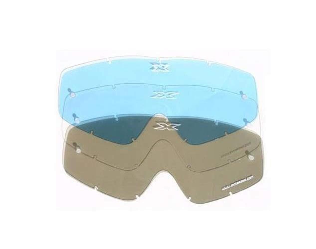 EKS BRAND Unisex-Adult X-GROM MX Motorcross Goggle Replacement Lens Smoke, One Size