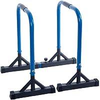 Tumdem Dip Barren Lot de 2 Barres de Musculation pour Fitness, parallettes Push up et Barre de Traction pour Tout Le Corps, Hauteur 80 cm, Charge maximale 150 kg
