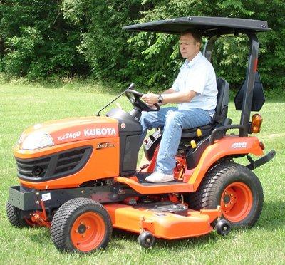 Kubota Compact Tractor Hard Top Canopy - Tractor Compact Kubota