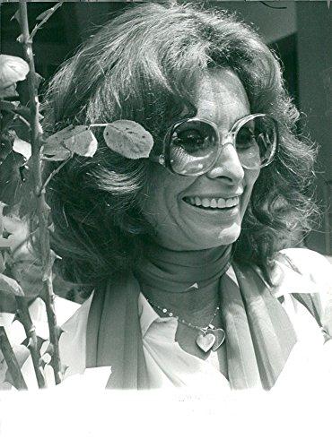 Actress Sophia Loren - Vintage photo of Sophia Loren, actress