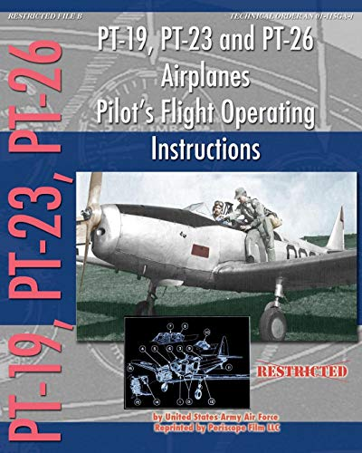 PT-19, PT-23 and PT-26 Airplanes Pilot's Flight Operating for sale  Delivered anywhere in Canada