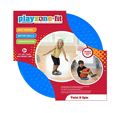 Playzone-fit Twist N Spin Ride-On ()