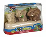 Fisher-Price Little People Zoo Talkers Elephant Family Pack, Baby & Kids Zone