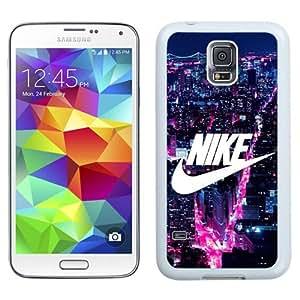 NEW Unique Custom Designed Samsung Galaxy S5 I9600 G900a G900v G900p G900t G900w Phone Case With NIKE Logo New York City_White Phone Case wangjiang maoyi by lolosakes