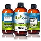 Cheap Nutrinoche Colloidal Gold – The Best Colloidal Gold Mineral Supplement – 30 PPM