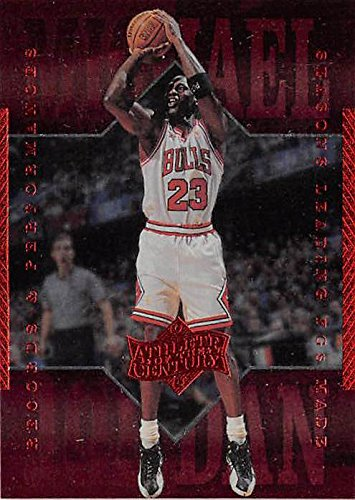 Autographed Basketball Card - Michael Jordan basketball card (Chicago Bulls Athlete of the Century Edition) 1999 Upper Deck #74 Jump Shot