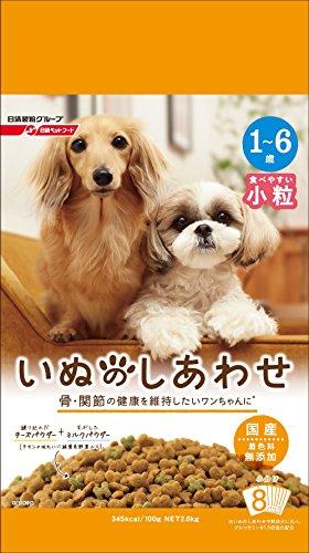 いぬのしあわせ 小型犬 1歳~6歳までの成犬用 2.6kg
