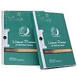 Premium Facial Oil Blotting Paper, 200 Counts