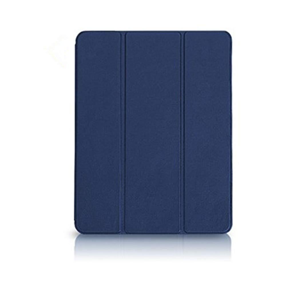 iPad 2/3/4ケース - ゴム引きソフトTPUバック付きスーパースリムポリウレタンカバー (内蔵ペンシルホルダースロットと自動スリープ/ウェイク機能) 三つ折りスタンドカバーシェル Apple iPad 2/3/4タブレット対応 Pencil Holder   B07P14CGBL
