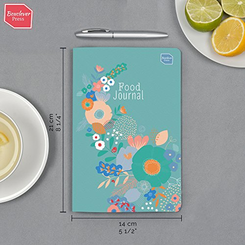 Boxclever Press Food, Diet & Weight Loss Journal. Get beachbody Ready with This Gorgeous Food Diary Notebook for Any Slimming and Fitness Plan. Weight Loss Tracker. Reach Your Health & Dieting Goals. Photo #6