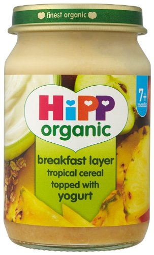 HiPP Organic Stage 2 From 7 Months Breakfast Duet Tropical Cereal with Yogurt 6 x 160 g (Pack of 2, Total 12 Pots) by Hipp (Image #8)