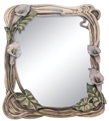 YTC Art Nouveau Calla Lilly Mirror Display Decoration (Christmas Nouveau Art Decorations)