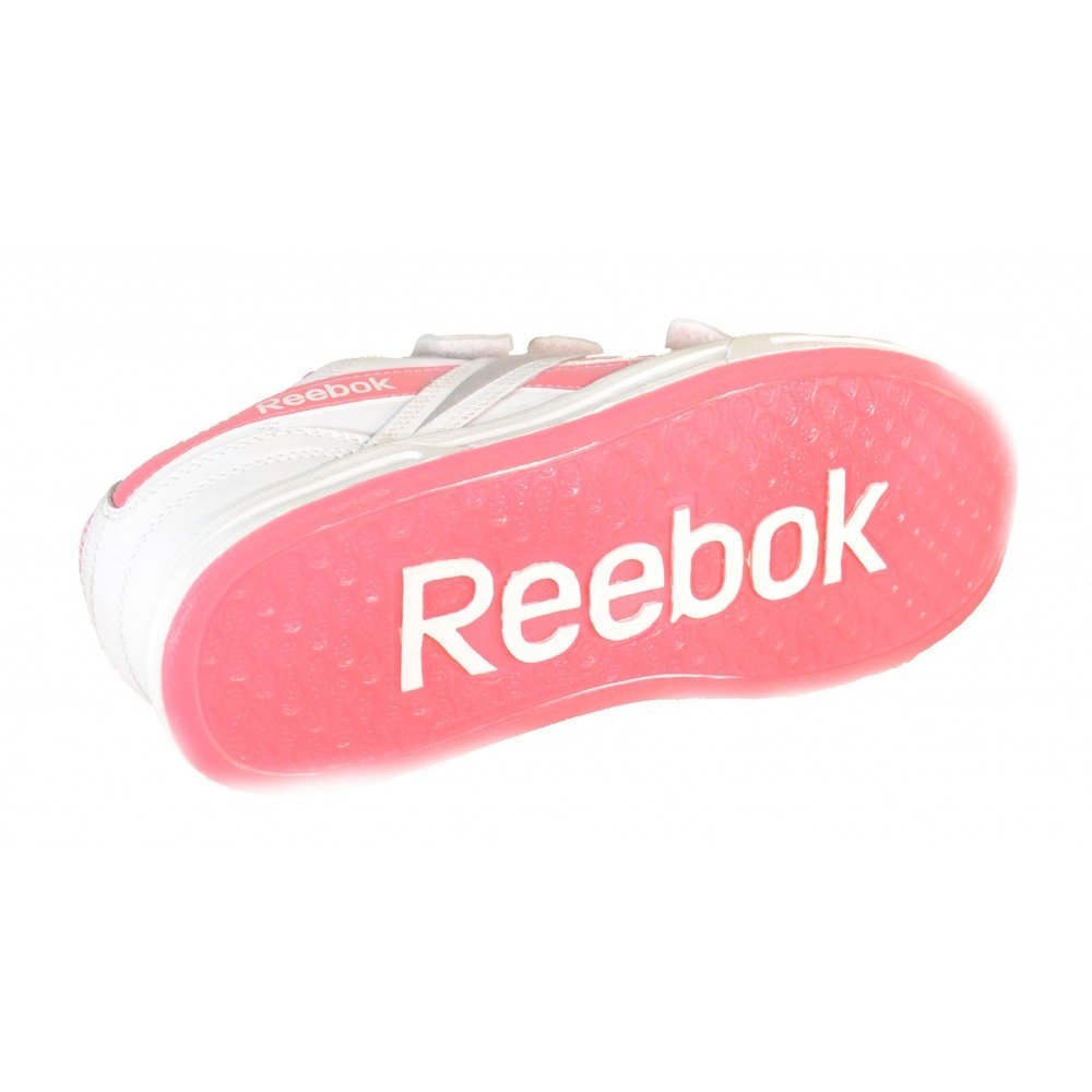 Reebok Ace It Kc Scarpe Sportive Donna Bianche Pelle Tela