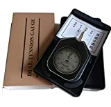 ATG-30-1 Dial Tension meter tester Gauge Tensionmeter Gram Force Meter Single Pointer 30G Push Pull Tester Gage Unit G with Analog tension meter tension tester , Single needle Gram gauge , Black ¡­