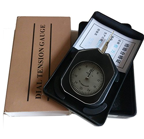 ATG-30-1 Dial Tension meter tester Gauge Tensionmeter Gram Force Meter Single Pointer 30G Push Pull Tester Gage Unit G with Analog tension meter tension tester , Single needle Gram gauge , Black ¡ by VETUS INSTRUMENTS