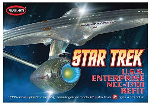 Enterprise Light - Polar Lights Round 2, LLC 1/1000 USS Enterprise NCC-1701A, PLL820