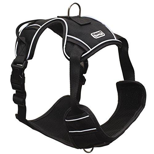 Franklin Pet Supply Reflective Dog Harness – Dog Training Dog Walking – Air-Mesh Comfort – Fit – Training Harness