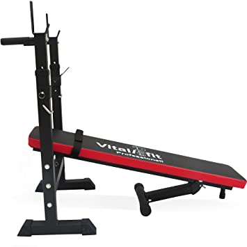 Multi Banco Fuerza Station Banco de pesas plegable oblicuo Banco de entrenamiento fitness: Amazon.es: Deportes y aire libre