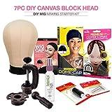 "Studio Limited Canvas Block Head DIY Wig Making Starter Set (23"")"