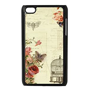 C-Y-F- Fashion Butterfly 1 Phone Case For Ipod Touch 4 [Pattern-6]